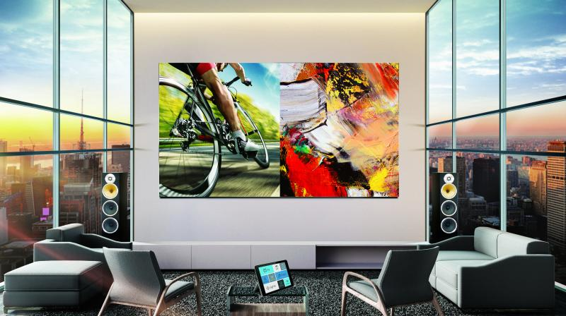 This next generation of Home Display technology is aimed at HNIs, working professionals, and affluent and aspirational millennials who prefer a cinematic experience and consume incredibly defined audio-visual content on a super-premium screen, within the comfort of their homes.