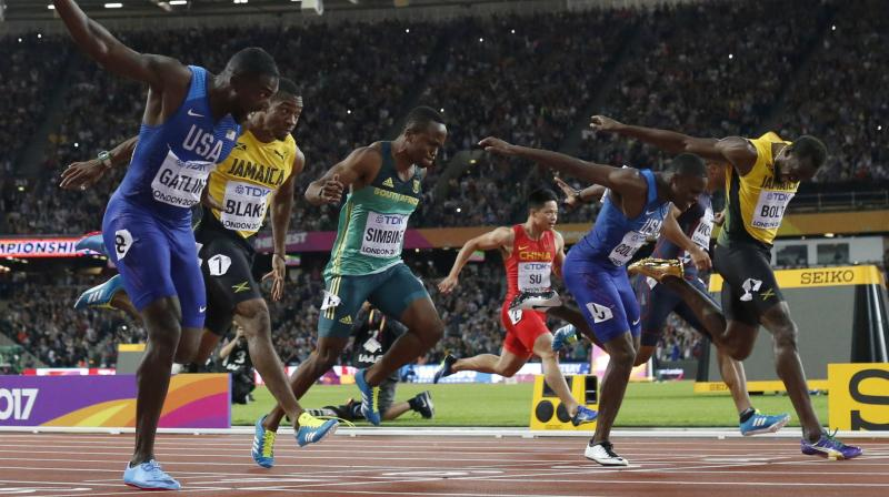 There was more left in the tank for Justin Gatlin, who says he has no immediate plans to retire and could be around for the 2020 Tokyo Games. (Photo: AP)