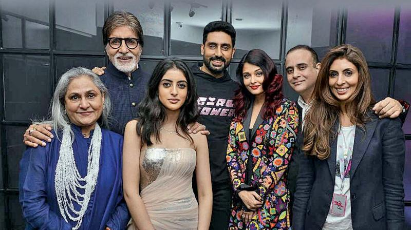 The death of Shweta Bachchan's father-in-law earlier this year is the reason for the absence of Diwali fanfare.