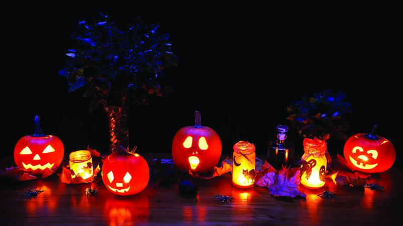 Halloween is the time when people release and let go of negative and lower energies that hold them back and celebrate the new energy that will eventually take its place.