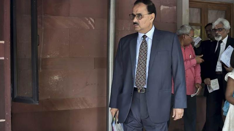 On October 26, the apex court had asked the CVC to complete inquiry in respect of the allegation made against Alok Verma within a period of 2 weeks. (Photo: File | PTI)