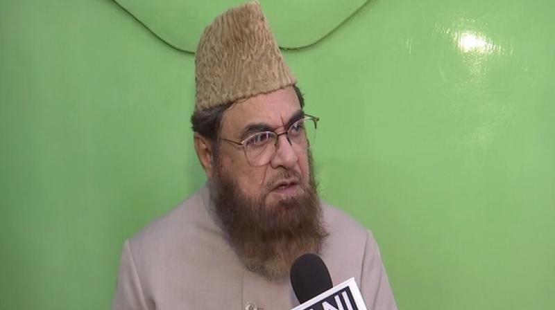 'Both Muslims and Jains won't consider it a marriage,' Mufti Mukarram Ahmed said. (Photo: ANI)
