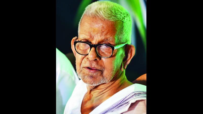 Malayalam poet Akkitham