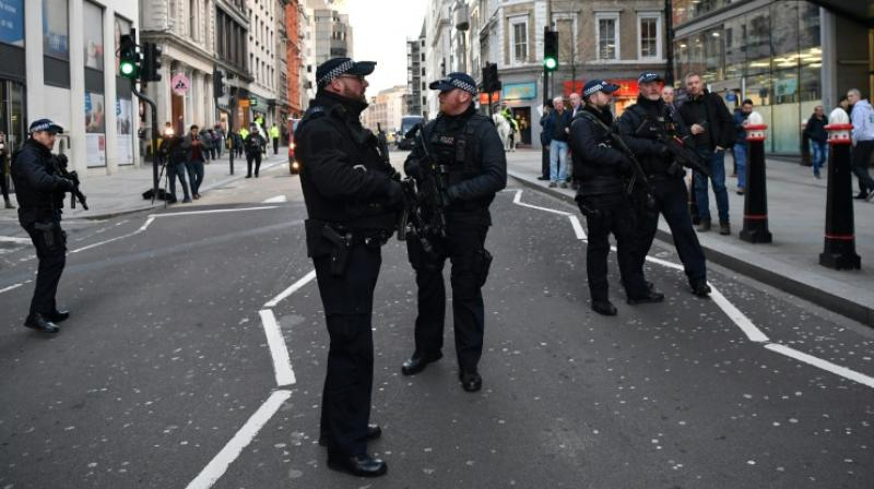 The violence erupted two-and-a-half years after a van and knife attack in the same area killed eight people and less than two weeks before Britain holds a national election.  (Photo: AFP)