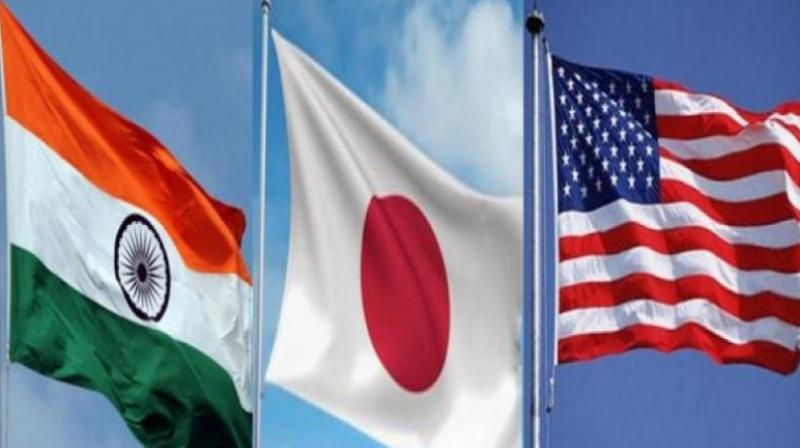 """India, Japan, the US and Australia have already held consultations ahead of the proposed formation of a """"quadrilateral"""" in the Indo-Pacific region to strengthen maritime cooperation."""