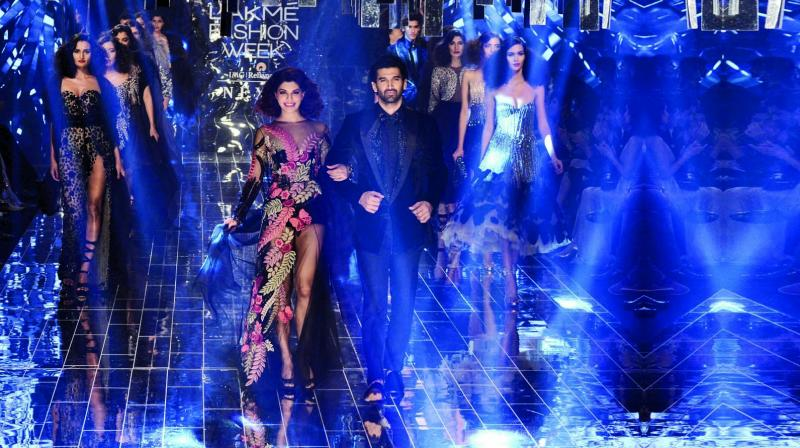 Manish Malhotra's Tales of Indulgence  collection was the perfect end to a week of glam, glitz and fashion in a true tribute to Lakme Fashion Week's characteristic grandeur. (Photo: Shripad Naik)