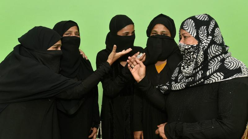 Under the law, triple talaq in any form - spoken, in writing or by electronic means such as email, SMS or WhatsApp - would be banned. (Photo: File/PTI)