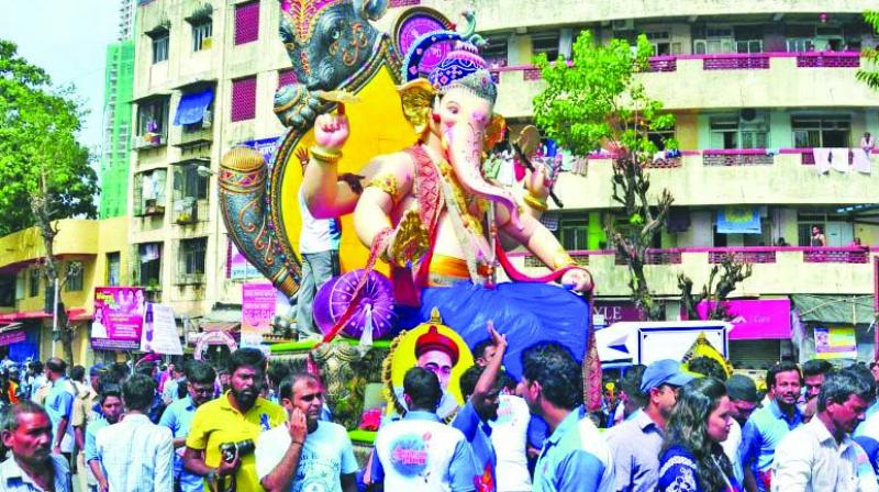 The upcoming Ganesh festival was discussed with regards to parameters such as safety and security and traffic management, among others.