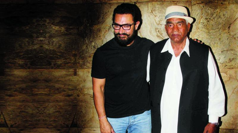 Mahavir Singh Phogat and Aamir Khan