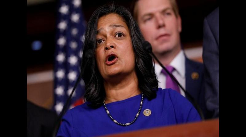 'I have fought to strengthen the special US-India relationship, which is why I'm deeply concerned. Detaining people without charge, severely limiting communications, & blocking neutral third-parties from visiting the region is harmful to our close, critical bilateral relationship,' Indian-American Congresswoman Pramila Jayapal tweeted. (Photo: ANI)