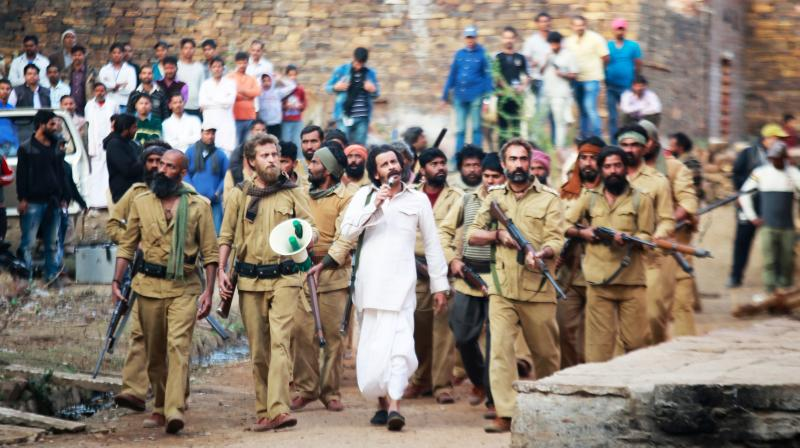 Manoj Bajpayee in the still from Sonchiriya.