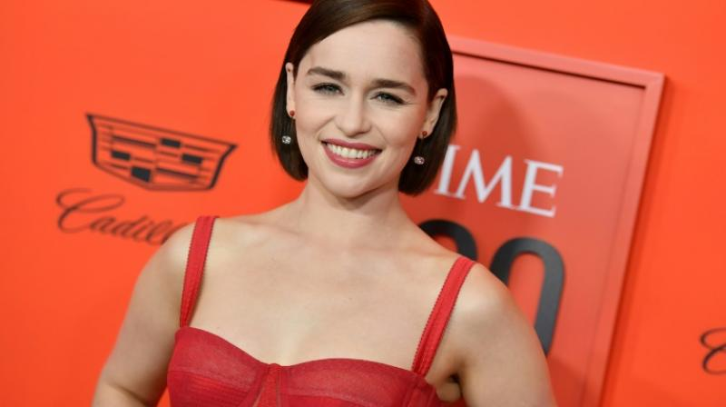British actress Emilia Clarke plays Daenerys Targaryen, who fans say took an unexpected turn in the final season of 'Game of Thrones'. (Photo: AFP)