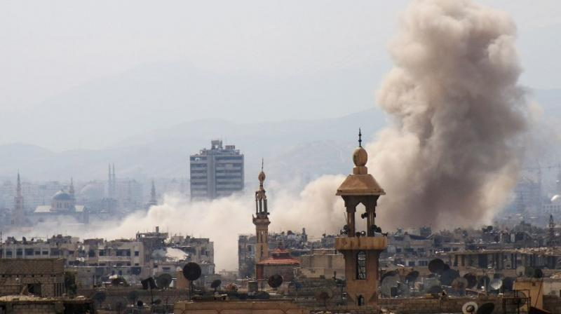 The US-led coalition has carried out several deadly strikes against Syrian government forces and allied fighters in recent months. (Photo: Representational)