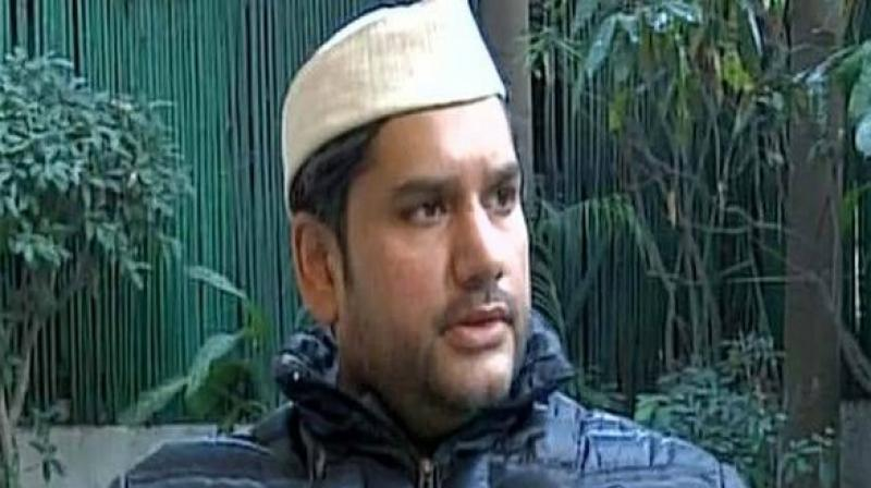 Rohit, son of late Congress leader N D Tiwari, had gone to sleep on the night of April 15 and was found dead under mysterious circumstances at 4 pm the next day. (Photo: ANI)