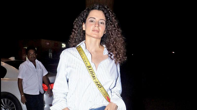Kangana Ranaut given Y-plus category security by Centre. (PTI Photo)