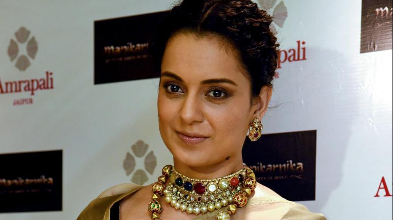 Maharashtra have slammed the Centre's decision to provide Y-level security to Bollywood actress Kangana Ranaut. (PTI Photo)