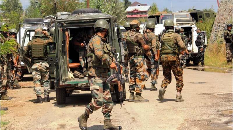 Three militant associates of LeT arrested in J-K's Bandipora. (PTI Photo)