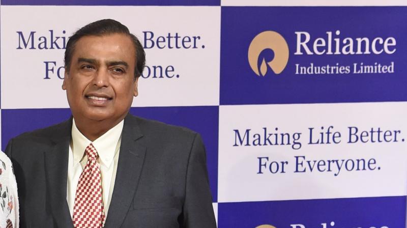 Reliance Industries chairman Mukesh Ambani. RIL unveils details of O2C business spinoff plan. (PTI Photo)