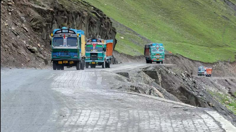 2 arrested after recovery of arms, ammunition from truck on Jammu-Srinagar highway. (Representative Image)