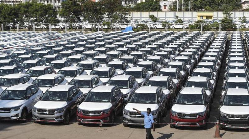 FADA on Wednesday said passenger vehicle retail sales in August declined 7.12 per cent to 1,78,513 units. (PTI Photo)