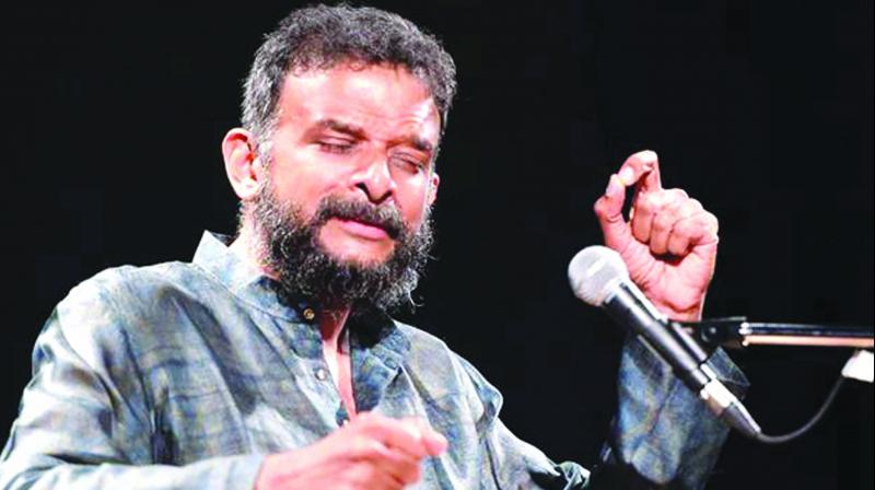 Singer T.M. Krishna