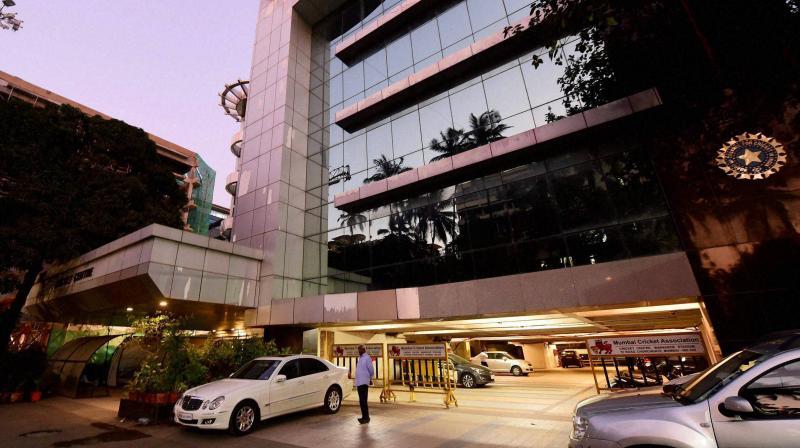 BCCI headquarters in Mumbai. PTI Photo
