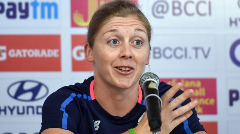 England women's cricket captain Heather Knight. PTI Photo