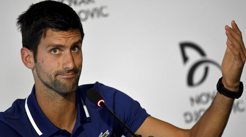 Novak will give his elbow and body the proper time to recover to come back strong and in the best shape in 2018. (Photo:AP)