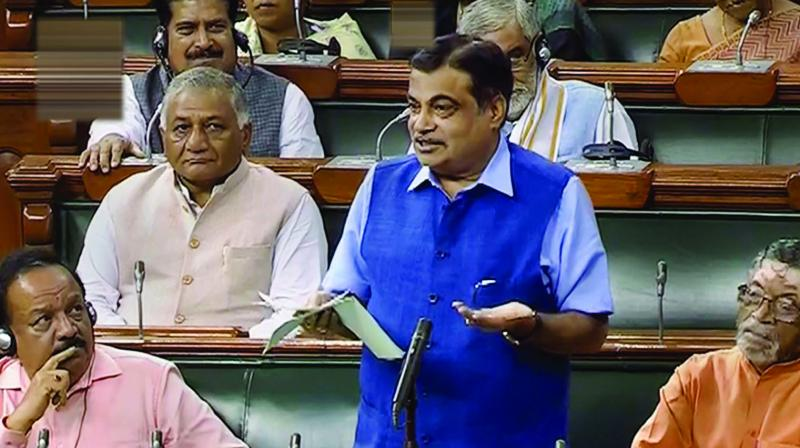 Union Minister Nitin Gadkari on Tuesday said people have to pay toll if they want good roads, making it clear that the toll system would stay as the government does not have enough funds. (Photo: File)