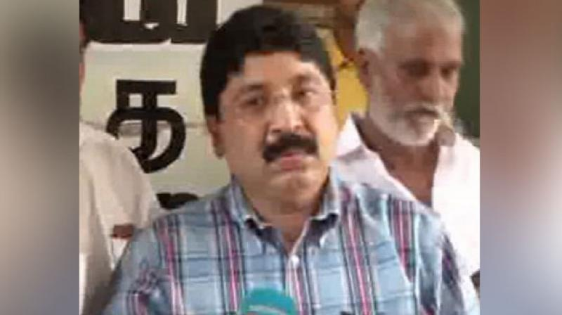 'I will meet people of Central Chennai from tomorrow for thanking people,' said Dayanidhi Maran. (Photo: ANI)