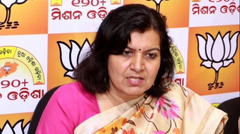 BJP MP Aparajita Sarangi