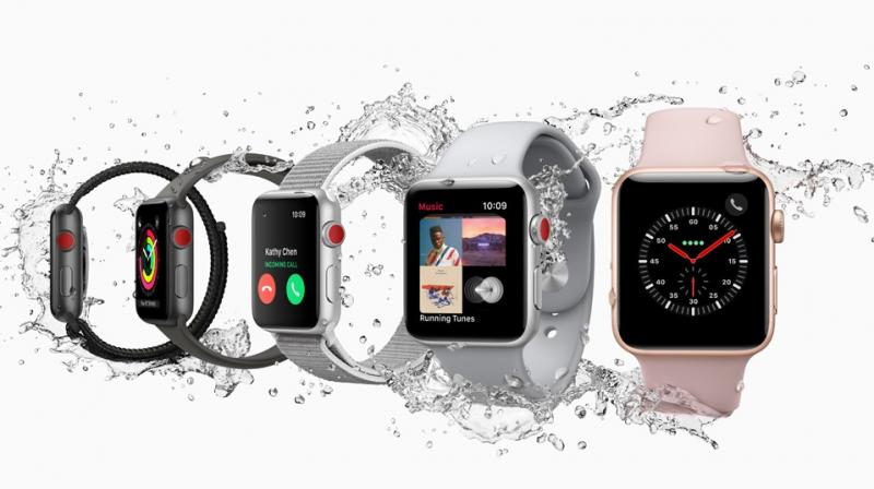 For the full year 2017, Apple sold an estimated 17.7 million smartwatches, accounting for 15.3 per cent of the wearable tech market, according to IDC.