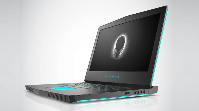 The Alienware 15 laptop starts at Rs 1,46,890