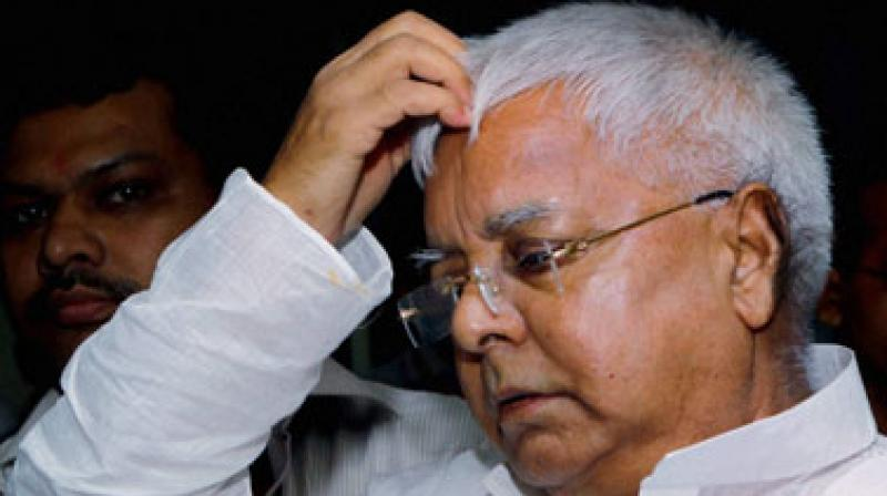 Lalu Yadav had recently undergone a fistula operation at a Mumbai hospital. (Photo: File)