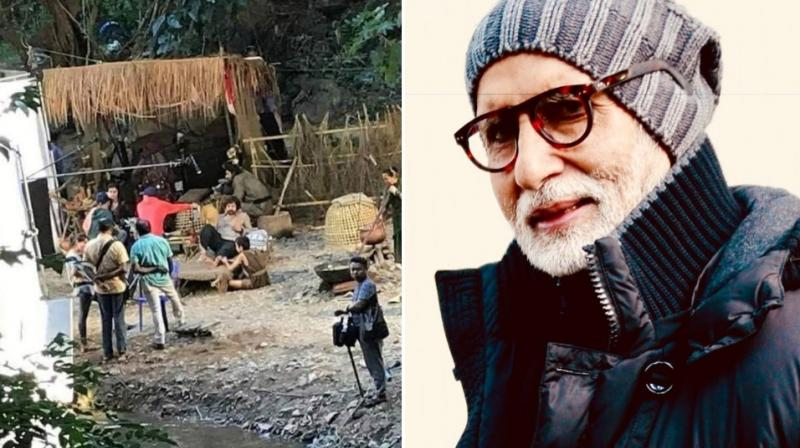 Aamir's leaked image from 'Thugs Of Hindostan' sets, Amitabh's instagram photo.