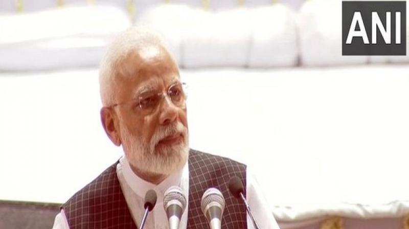 Addressing a rally in Maharashtra's Jalgaon district to campaign for the BJP for the upcoming state polls, PM Modi said the opposition by some parties and leaders to decisions in India's interests was 'unfortunate'. (Photo: File | ANI)