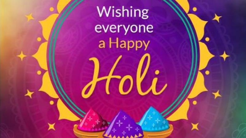'Best wishes to all the people of Holi's festival. This festival of joy and joy will deepen the colour of our unity and goodwill,' the Prime Minister tweeted. (Photo: Twitter | @NarendraModi)