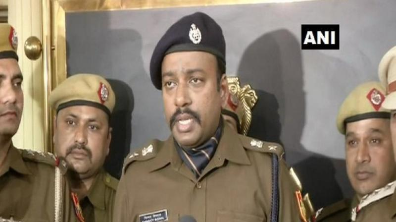 Police said that the victim was strangled to death as there was mark on her neck. (Photo: ANI)
