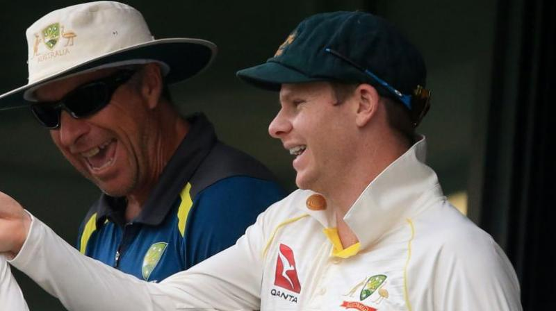 Smith, pilloried and banned for a year over the infamous 'Sandpaper-gate' affair, rose above taunts of