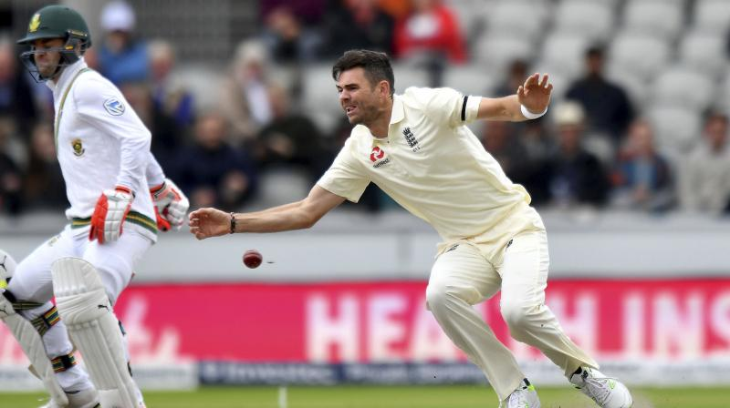 Broad believes Anderson, who was also a key member of the England touring side that lifted the 2010-11 Ashes trophy, would once again prove to be a central figure when the Joe Root-led side head into this summer's Ashes series. (Photo: AP)
