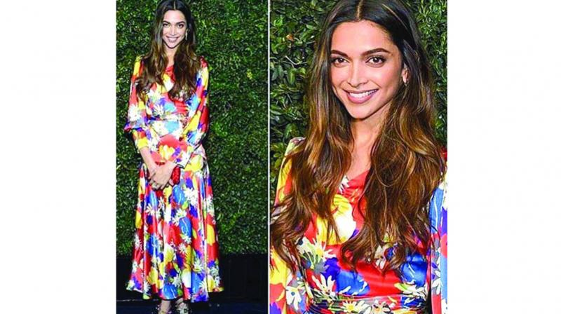 cecb58ce53af Deepika Padukone in retro neon