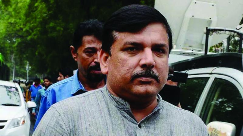 Responding to Tiwari, AAP's Rajya Sabha MP Sanjay Singh said the BJP, instead of supporting the administration in its campaign, is alleging dengue larvae were found in Delhi government's offices and schools. (Photo: File)