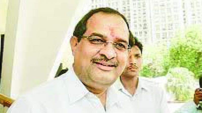 Congress leader Radhakrishna Vikhe-Patil