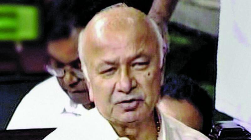 Veteran Congress leader Sushilkumar Shinde