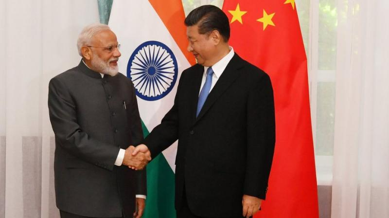 Prime Minister Narendra Modi and Chinese President Xi Jinping (Photo: Twitter)