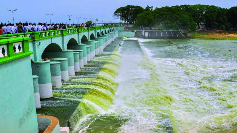 A picture of the river Cauvery