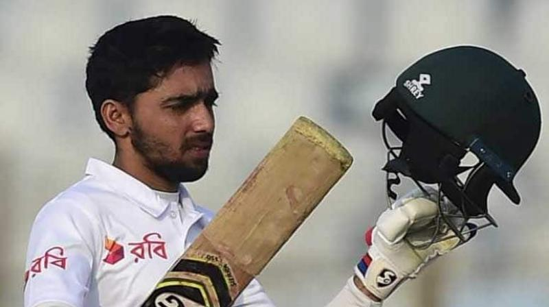 Mominul Haque was 'not ready at all' for Test captaincy but the thought of leading Bangladesh against Virat Kohli's India makes him feel good. (Photo:AFP)