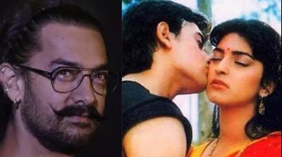 Aamir Khan and Juhi Chawla in a still from 'Qayamat Se Qayamat Tak.'