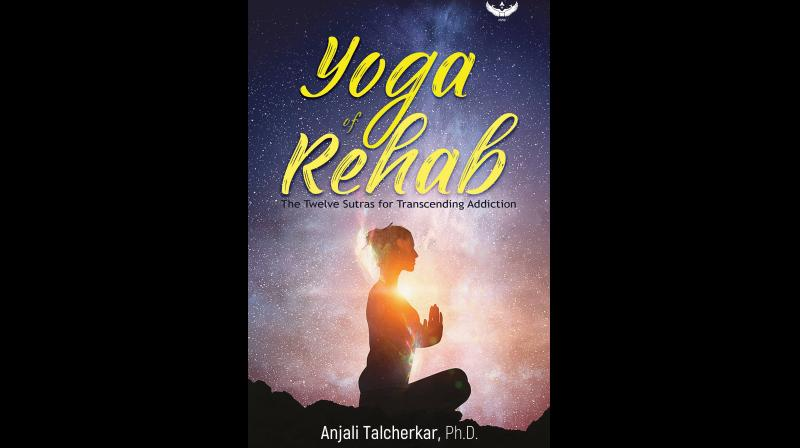 Cover Page of  'Yoga of Rehab' by Anjali Talcherkar