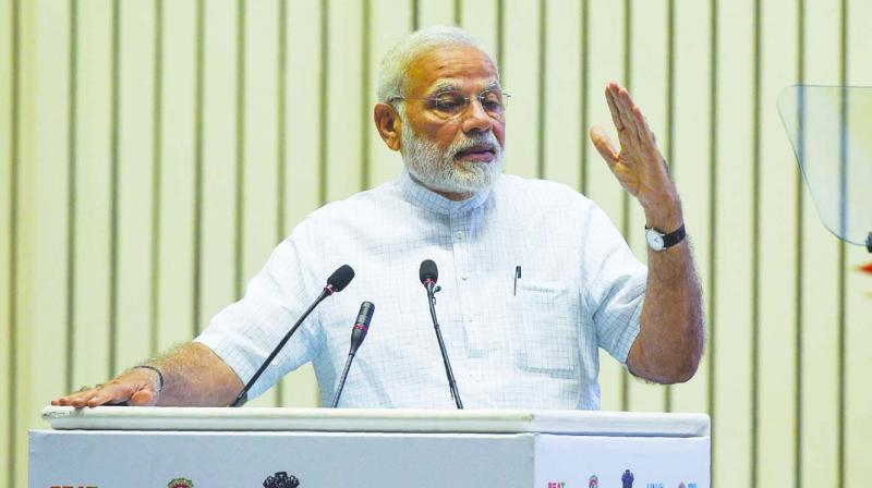 Prime Minister Narendra Modi will visit two African nations en route to the Brics summit. (Photo: AFP)